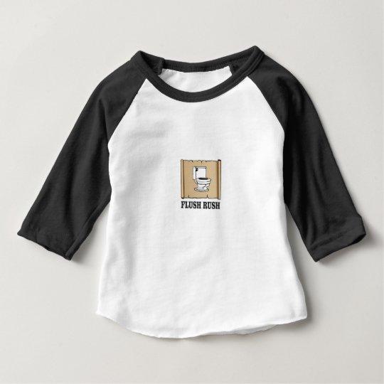 ebene Kunst der Eile Baby T-shirt
