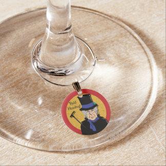 Ebenezer Scrooge Weinglas Anhänger