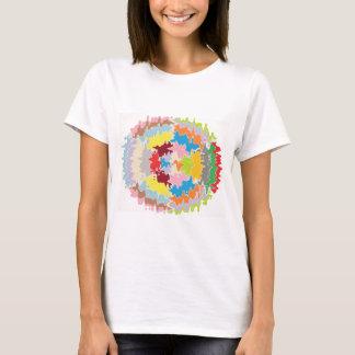 EBR Regenbogen-Farben:  Energie-Balance T-Shirt