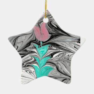 Ebru Keramik Stern-Ornament