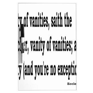Eccles. 1:2, w2 memoboard