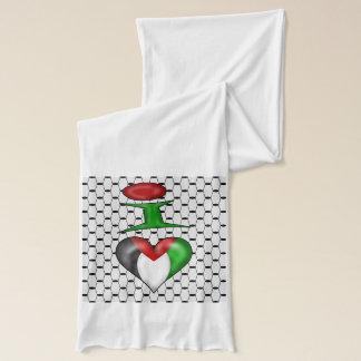 Écharpe J'aime la Palestine