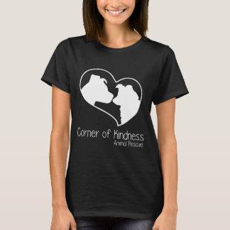 Ecke des T - Shirt der Güte-Frauen