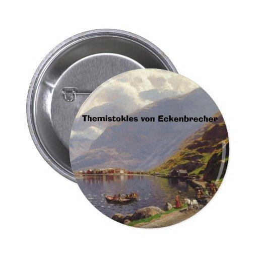 Eckenbrecher, Themistokles von Eckenbrecher Anstecknadel