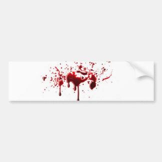 éclaboussure 3.png de sang autocollant de voiture