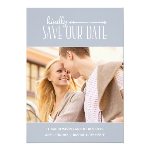 Économies rustiques de photo du charme   la date invitations
