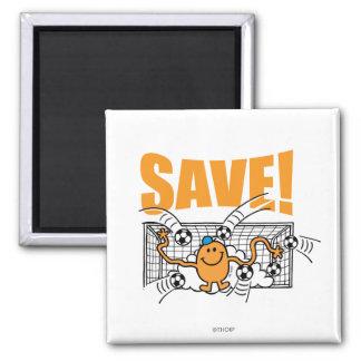 Économisez ! magnet carré