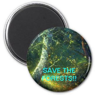 économisez magnet rond 8 cm