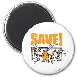 Économisez ! magnet rond 8 cm