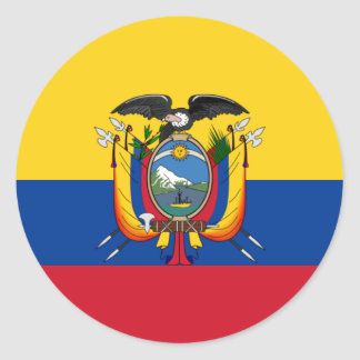 Ecuador Runder Aufkleber