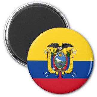 Ecuador Runder Magnet 5,1 Cm