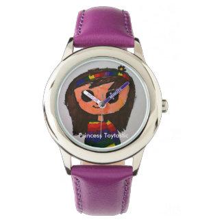 Edelstahl-Uhr Prinzessin-Toytastic Armbanduhr