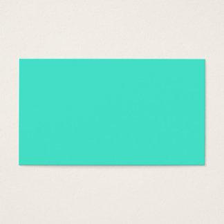 Edelstein B10 eines Türkises! Farbe Visitenkarte