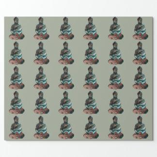 Edelstein-Buddha-Packpapier Geschenkpapier