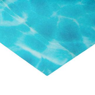 Edelstein-Stein-Muster, blaues Seidenpapier