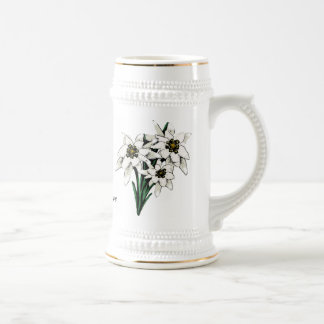 Edelweiss Stein Tasses À Café