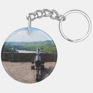 Edersee Aussicht von Schloß Waldeck Schlüsselanhänger