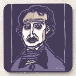 Edgar Allan Poe durch FacePrints Getränkeuntersetzer