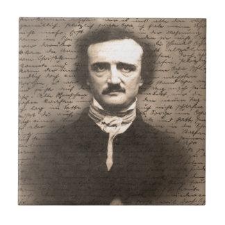 Edgar Allan Poe Kleine Quadratische Fliese