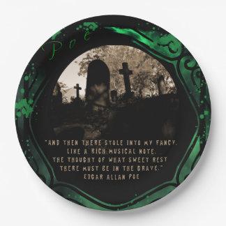 Edgar Allan Poe Pappteller