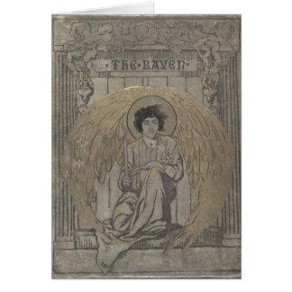 Edgar Allan Poes der Rabe Karte