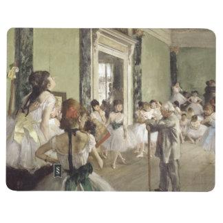 Edgar Degas | die Ballett-Klasse Taschennotizbuch