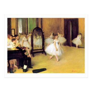 Edgar Degas | die Tanzen-Klasse Postkarte
