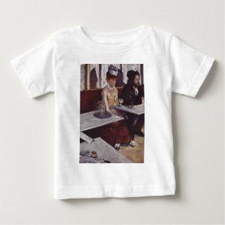 Edgar Degas - Frauen-Caféöl Mann des Wermuts 1876 Baby T-shirt