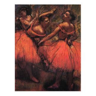 Edgar Degas-Kunst-Postkarten Postkarte