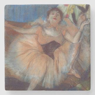 Edgar Degas| Sitztänzer, 1879-80 Steinuntersetzer