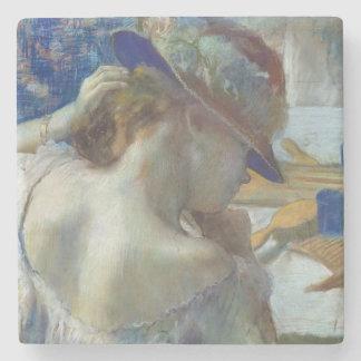 Edgar Degas | vor dem Spiegel, 1889 Steinuntersetzer
