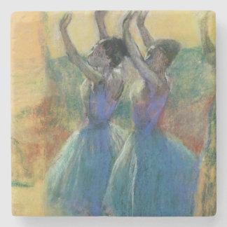 Edgar Degas | zwei blaue Tänzer Steinuntersetzer