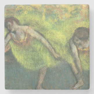 Edgar Degas | zwei entspannende Tänzer Steinuntersetzer