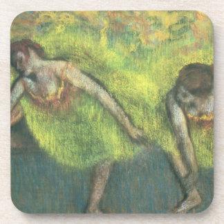 Edgar Degas | zwei entspannende Tänzer Untersetzer