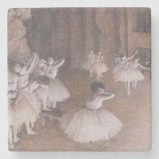 Edgar entgasen | Ballett-Probe auf der Bühne, 1874 Steinuntersetzer