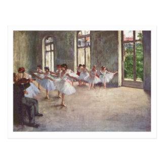 Edgar entgasen | die Ballett-Probe Postkarte