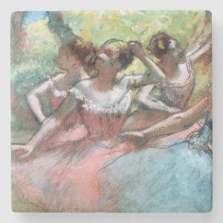 Edgar entgasen | vier Ballerinen auf der Bühne Steinuntersetzer