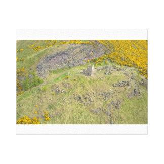 Edinburgh-Fort nach den Hügeln Leinwanddruck