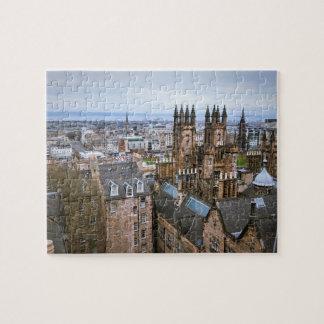 Edinburgh-Skyline von der Dachspitze,