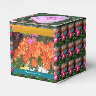Editable DIY 2x2 Bevorzugungs-Kasten des Geschenkschachtel