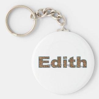 Edithschlüsselkette Schlüsselanhänger