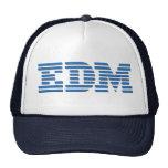 EDM - IBM parodieren Entwurf für EDM Liebhaber Baseballkappe