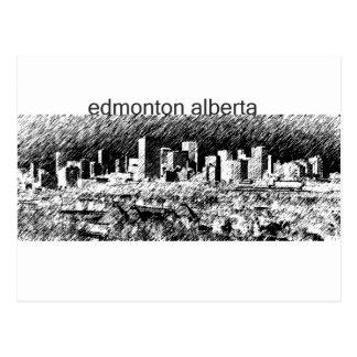Edmonton Alberta Postkarte
