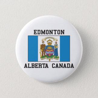 Edmonton Alberta Runder Button 5,7 Cm