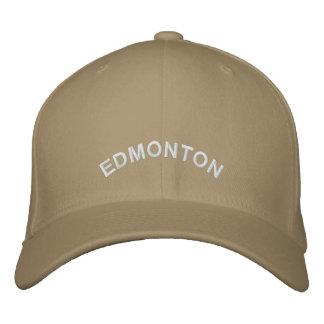 Edmonton-Andenken-Baseballmütze-gestickte Kappe