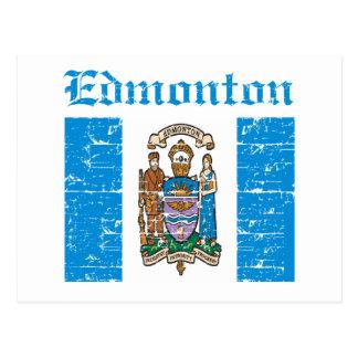 Edmonton-Entwürfe Postkarte