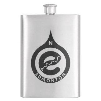 Edmonton-Flasche Flachmann