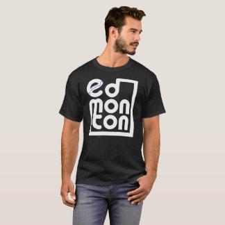 Edmonton in einem Kasten T-Shirt