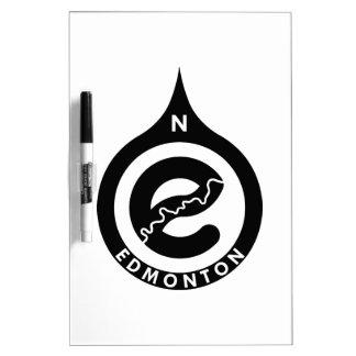Edmonton-Notizblock Trockenlöschtafel