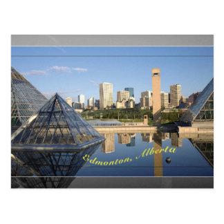 Edmonton-Postkarte Postkarte